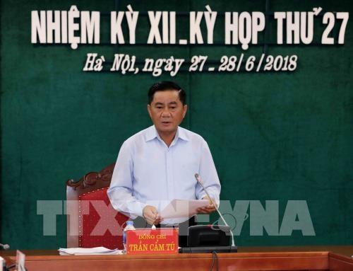 La Commission du controle du Comite central du Parti tient sa 29e reunion hinh anh 1