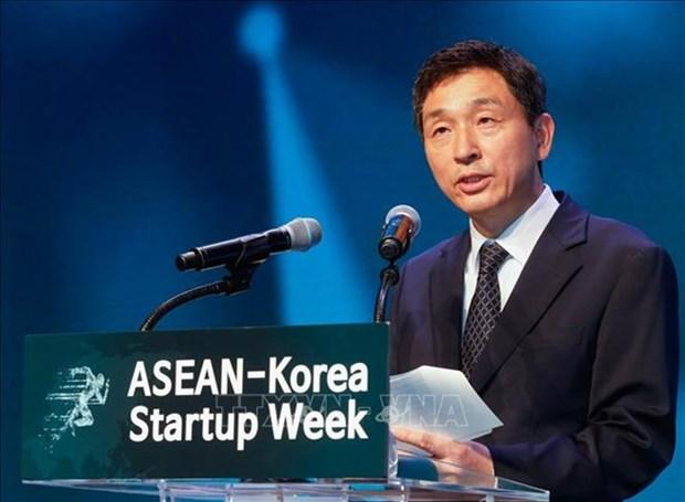 L'ASEAN et la Republique de Coree travaillent a promouvoir les start-up technologiques hinh anh 1