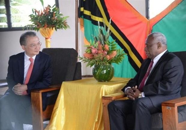 Le Vanuatu attache de l'importance aux liens traditionnels avec le Vietnam hinh anh 1