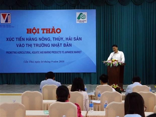 Faciliter les exportations de produits agricoles et aquatiques vietnamiens au Japon hinh anh 1