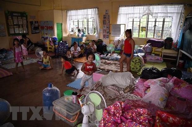 Le typhon Mangkhut fait 25 morts aux Philippines hinh anh 1