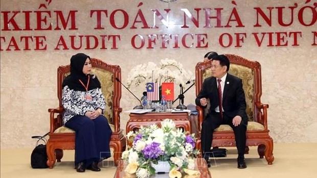ASOSAI 14 : intensifier la cooperation Vietnam-Malaisie dans l'audit hinh anh 1