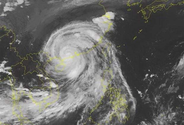 De fortes pluies sont prevues en raison du typhon Mangkhut hinh anh 1