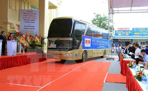 Projet pilote de transport routier international Vietnam-Chine hinh anh 1