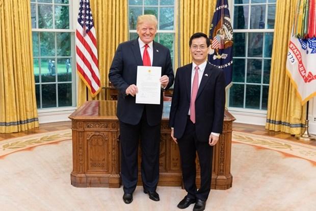 Le president americain apprecie le developpement du Partenariat integral Vietnam-Etats-Unis hinh anh 1