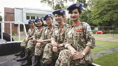 Des Vietnamiennes qui œuvrent pour la paix au Soudan du Sud hinh anh 1