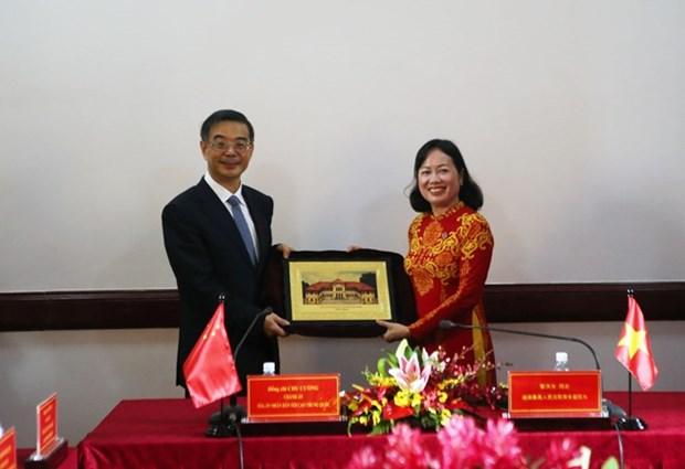 Vietnam-Chine : renforcement de la cooperation entre les Cours supremes hinh anh 2