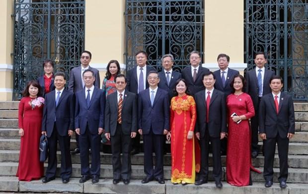 Vietnam-Chine : renforcement de la cooperation entre les Cours supremes hinh anh 1