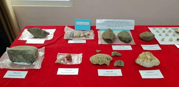 Decouverte de plusieurs reliques archeologiques dans la grotte volcanique Krong No hinh anh 1