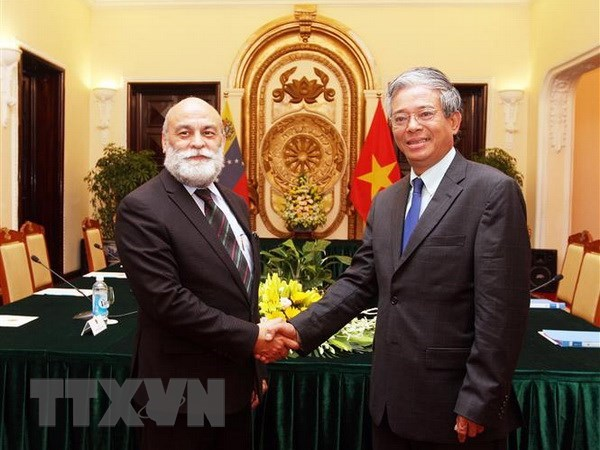 Consultations politiques de vice-ministre Vietnam-Venezuela hinh anh 1