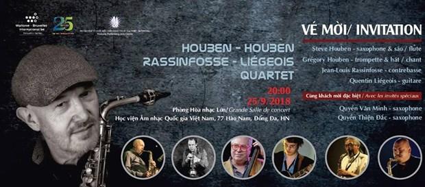Deux concerts de jazz aux couleurs belges au Vietnam hinh anh 1