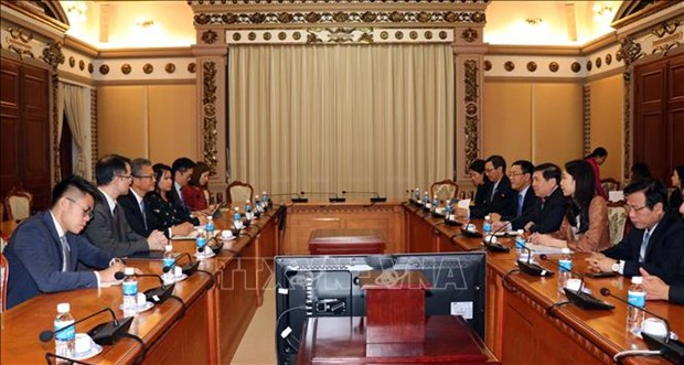 Stimuler la cooperation entre Ho Chi Minh-Ville et Hong Kong (Chine) hinh anh 1