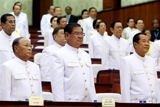 Cambodge : le roi nomme 101 personnes aux postes de conseiller et assistant personnels du PM hinh anh 1