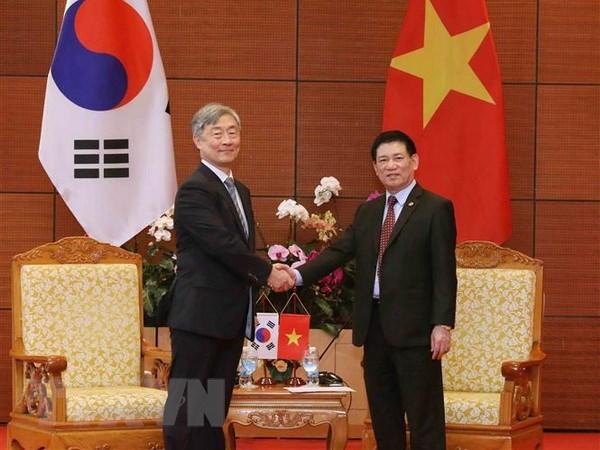 ASOSAI 14: le Vietnam et la R. de Coree renforcent la cooperation dans l'audit conjoint hinh anh 1