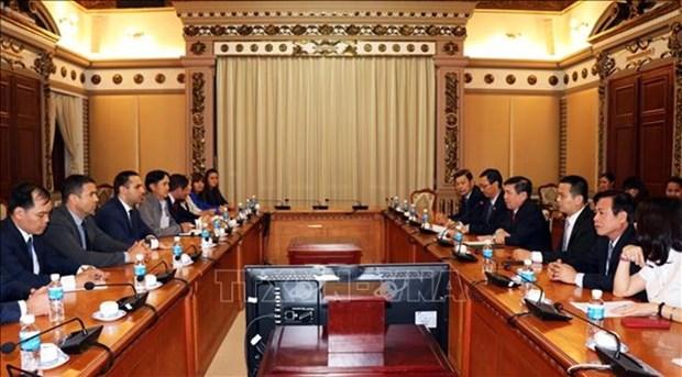 HCM-Ville et la Bulgarie favorisent la cooperation economique hinh anh 1