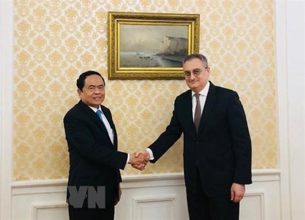 Le Front de la Patrie du Vietnam coopere avec des organisations russes hinh anh 1