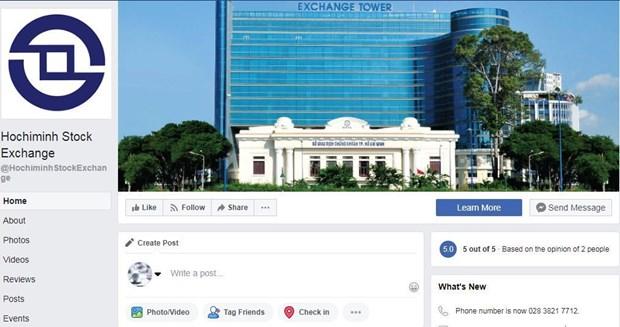 Le HoSE renforce la diffusion d'informations sur Facebook hinh anh 1
