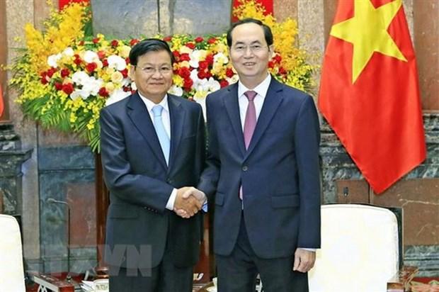 Le Laos declare un deuil national en memoire du president Tran Dai Quang  hinh anh 1