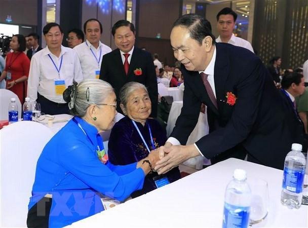 Ninh Binh est fiere de son fils d'elite, le president Tran Dai Quang hinh anh 1