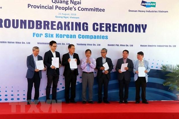 Quang Ngai cherche des investisseurs pour son industrie hinh anh 1