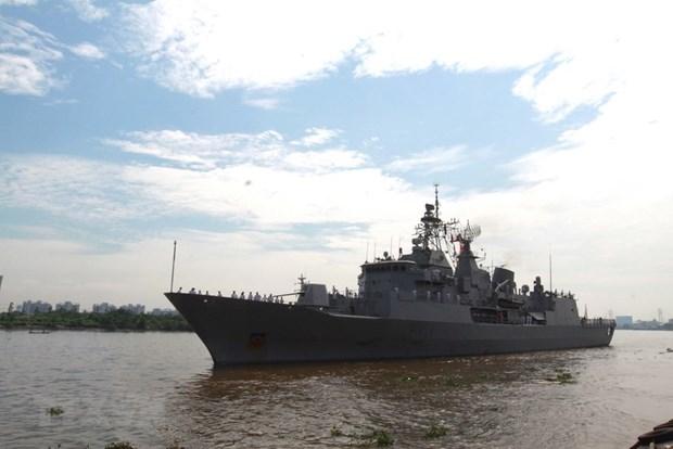 Une delegation de la Marine royale de la Nouvelle-Zelande en visite d'amitie au Vietnam hinh anh 1