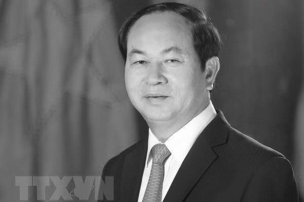 Le president Tran Dai Quang au cœur de ceux qui restent hinh anh 1