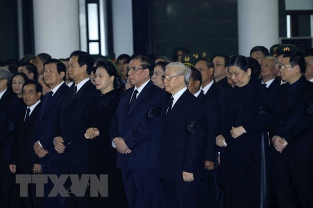 Ceremonie commemorative en memoire du president Tran Dai Quang hinh anh 2
