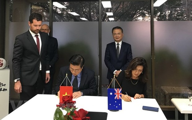 Cooperation intensifiee dans la formation d'avocats entre le Vietnam et l'Australie hinh anh 1