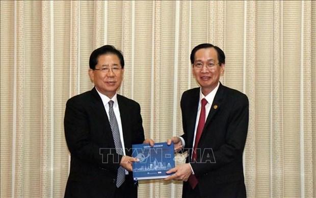 HCM-Ville intensifie sa cooperation touristique avec l'association NEAR hinh anh 1