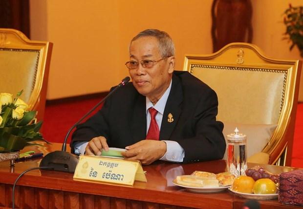Deces du premier vice-president du Senat du Cambodge Nay Pena hinh anh 1