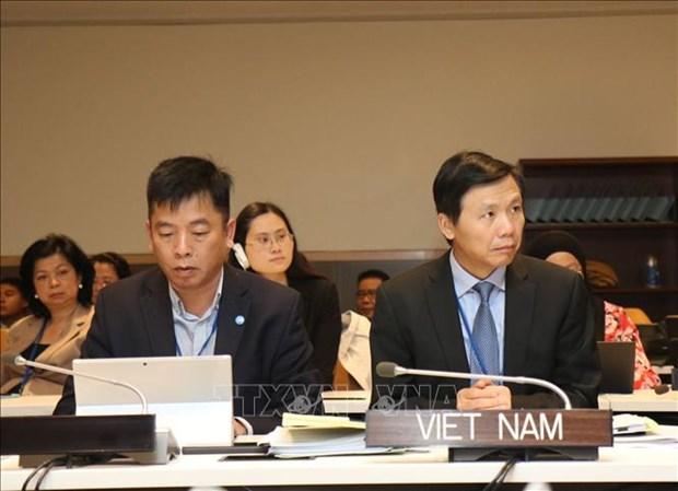 Reunion non officielle des ministres des AE de l'ASEAN en marge de l'Assemblee generale de l'ONU hinh anh 1
