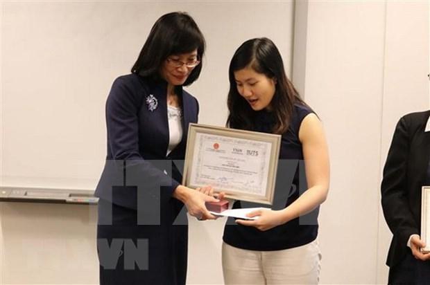 Finale d'un concours d'innovation pour les Vietnamiens en Australie hinh anh 1
