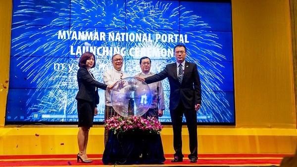 Myanmar : Mise en service de son premier portail developpe avec l'aide de FPT IS hinh anh 1