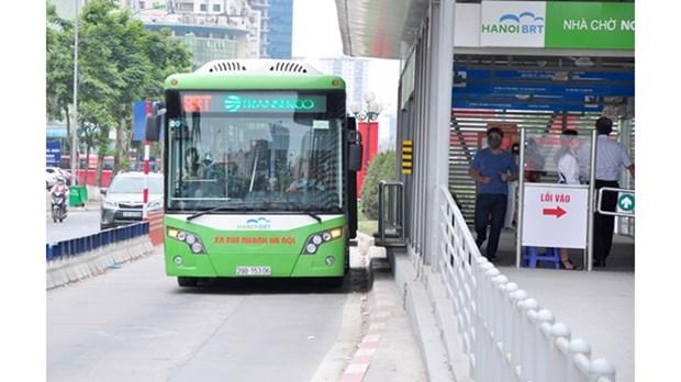 Hanoi tente de deployer le paiement par carte a puce dans les transports publics hinh anh 1