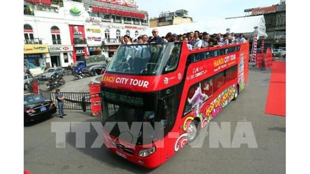 Ouverture prochaine d'une nouvelle ligne de bus a deux etages pour les touristes hinh anh 1