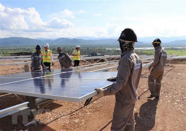 Pres de 20.000 milliards de dongs investis dans des projets d'energie solaire a Tay Ninh hinh anh 1