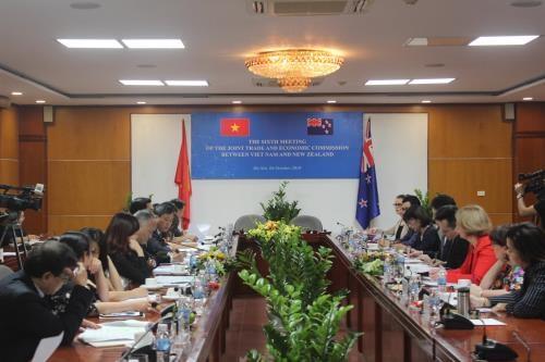 Le Vietnam et la Nouvelle-Zelande promeuvent leur cooperation dans plusieurs domaines hinh anh 1