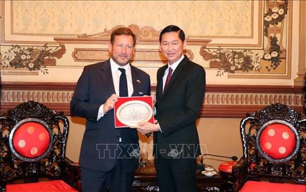 Ho Chi Minh-Ville veut cooperer avec le Royaume-Uni dans le commerce hinh anh 1