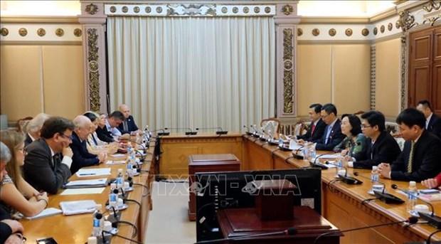 HCM-Ville et le Royaume-Uni renforcent la cooperation entre des organes elus par le peuple hinh anh 1