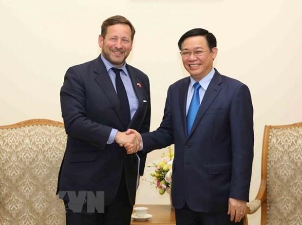 Le Royaume-Uni soutiendra les projets de ville intelligente au Vietnam hinh anh 1