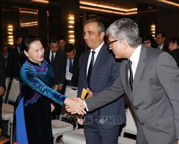 La presidente de l'AN du Vietnam au Forum d'affaires et d'investissement Turquie-Vietnam hinh anh 1