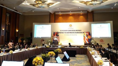 Agriculture et sylviculture : conference des hauts officiels de l'ASEAN a Hanoi hinh anh 1