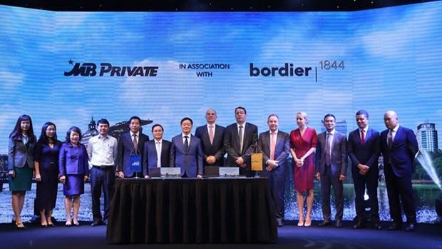 MB signe un accord de cooperation strategique avec Bordier & Cie hinh anh 1