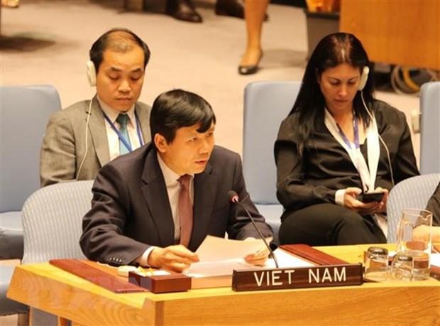 73e session de l'AG de l'ONU: le Vietnam a la reunion de la 6e Commission hinh anh 1