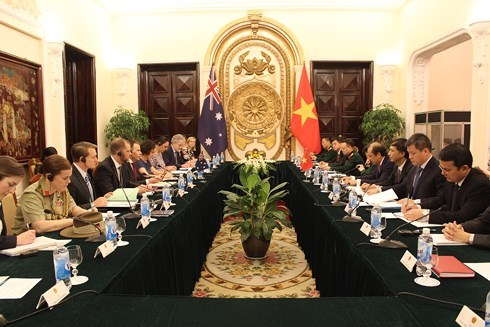 Vietnam-Australie: dialogue strategique au niveau des vice-ministres des AE et de la Defense hinh anh 1