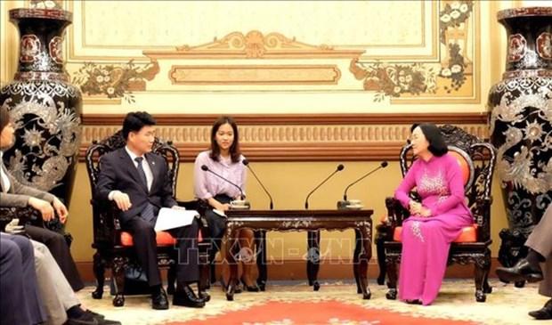 Ho Chi Minh-Ville et la province sud-coreenne de Gyeonggi promeuvent leur collaboration hinh anh 1
