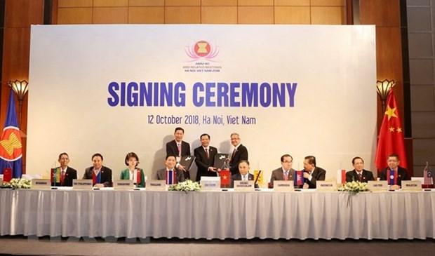 L'ASEAN+3 booste la cooperation dans la securite alimentaire hinh anh 1