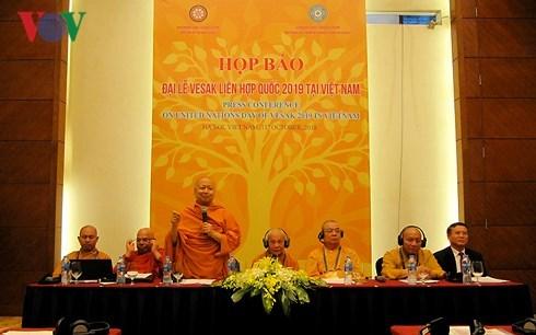 Le Vietnam, pays d'hote de la fete bouddhique du Vesak 2019 hinh anh 1
