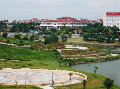 Le parc Van Lang, perle de la ville de Viet Tri hinh anh 1
