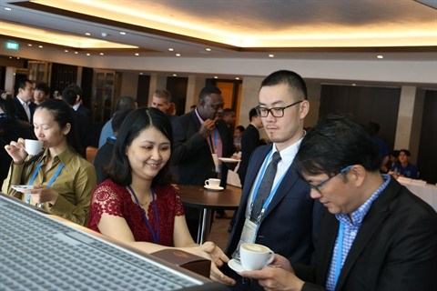 Exportation de cafe: le Vietnam depasse 2,7 Mds $ cette annee hinh anh 1